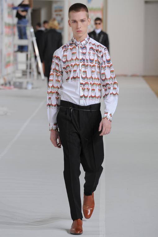 Dries van Noten menswear collection AW12