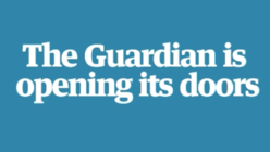 Open house at The Guardian for a weekend