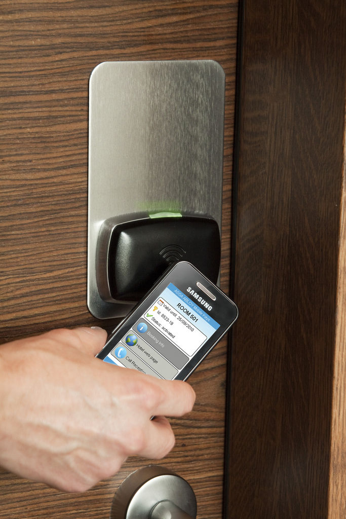 Keyless lock by Yale and Assa Abloy