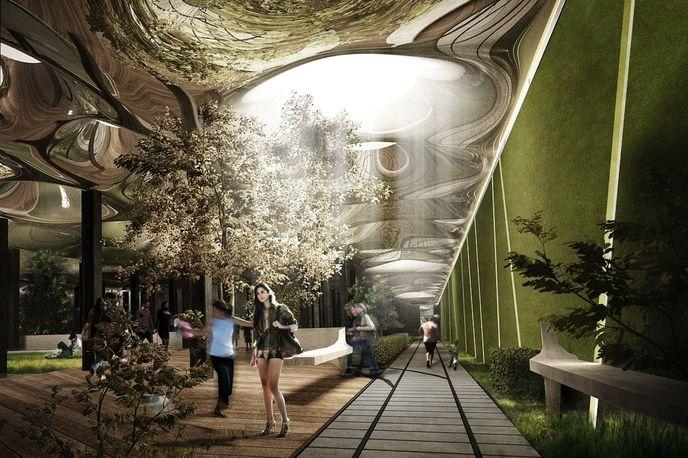 Delancey Underground Park by James Ramsey and  Dan Barasch