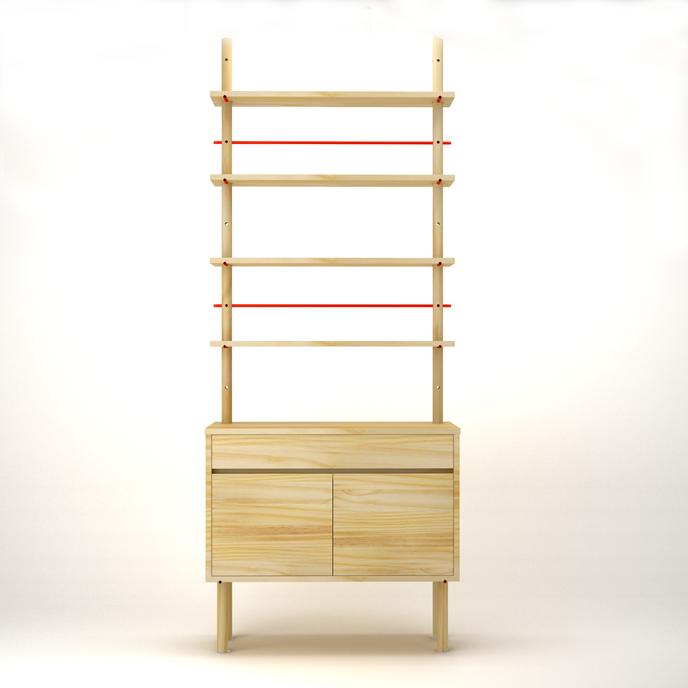 Welsh Dresser by Jenk, Stockholm