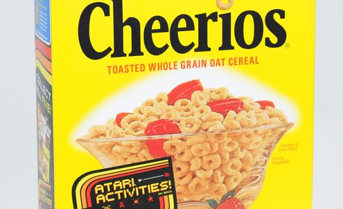 Cereal Branding & Packaging is on Target for 80's revival