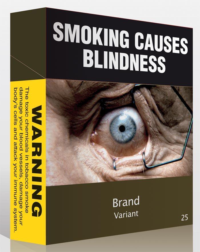 New cigarette packaging 2012, Australia