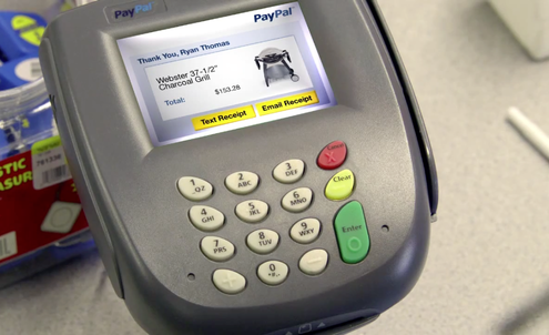PayPal eyes payment deals with physical retailers