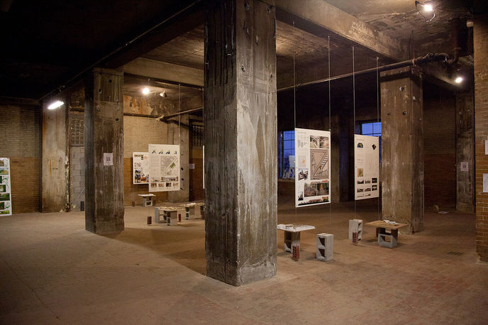 Exhibition Space at The Plant, Chicago