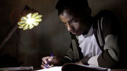 Bright Idea: solar lamp aids developing world