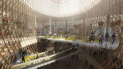 Lattice work: Mall concept sets a new pattern