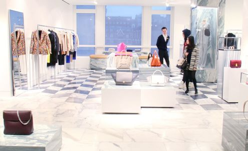 Selfridges combines high-tech with high-fashion