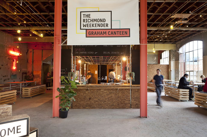 Richmond weekender, Right Angle Studio, Melbourne