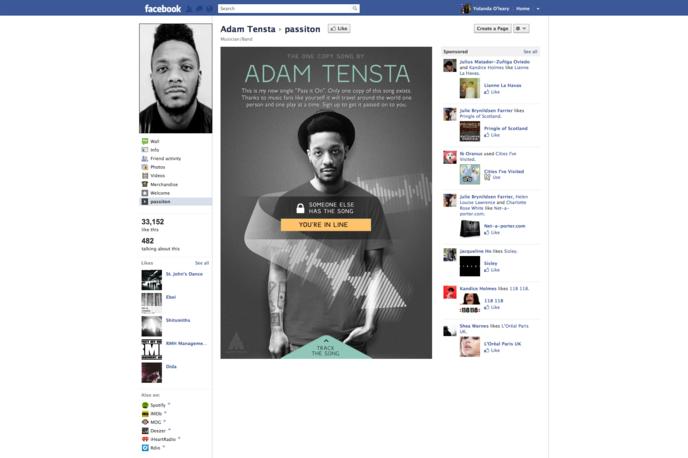 Pass it on, Adam Tensta