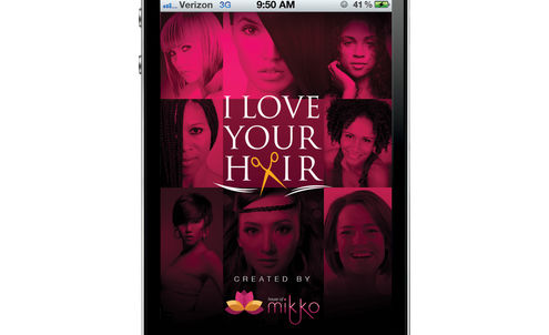 App gives women a chance to let their hair down