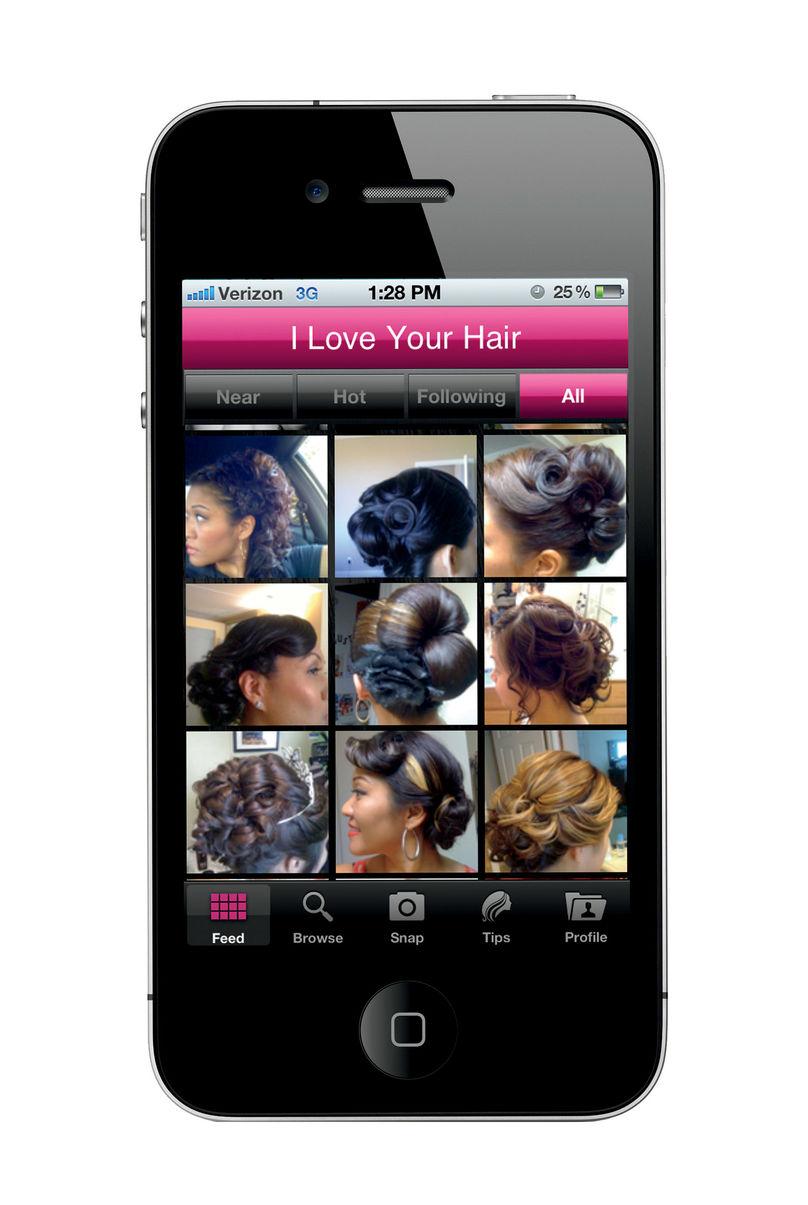 Love Your Hair app