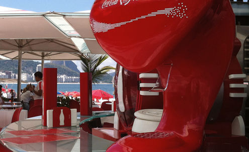 Coca-Cola's cup runneth over with happiness