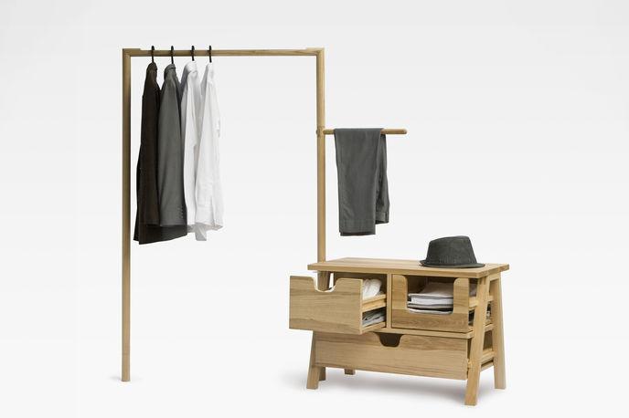 7 Day Closet, THINKK studio and Studio 24 at Milan furniture fair