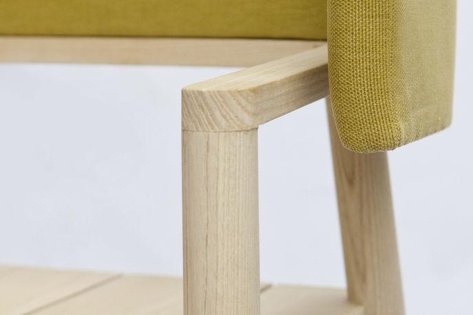 Arms Chair, THINKK studio and Studio 24 at Milan furniture fair