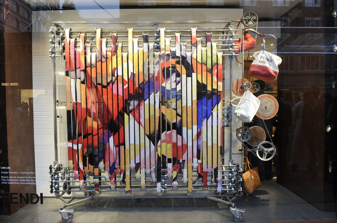 Fendi collaborates with RCA students in London