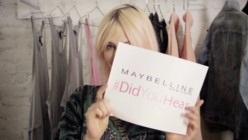 Free rein: Maybelline goes viral with new video