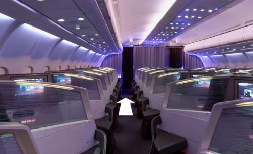 Virgin treats customers to a first-class tour