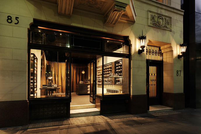 Aesop store by Kerstin Thompson Architects, Melbourne