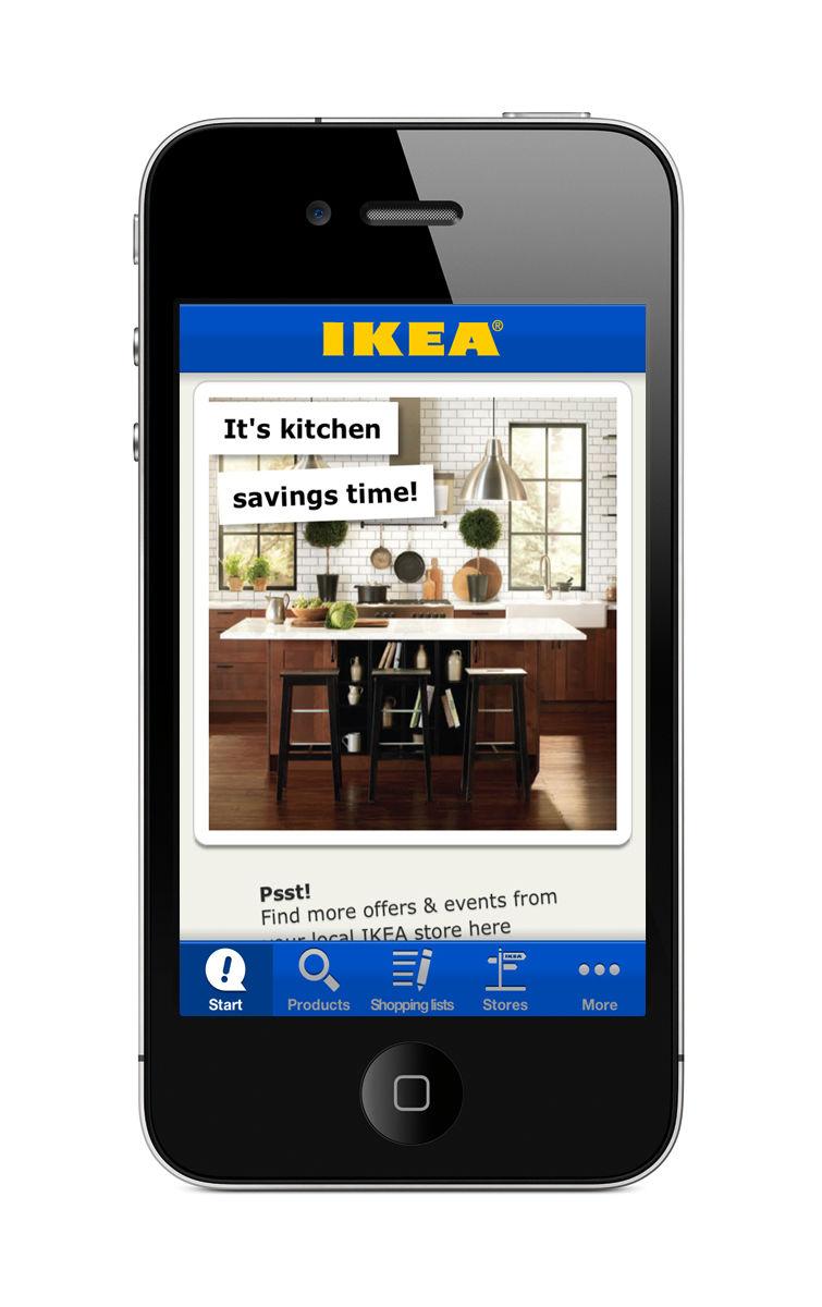 LSN : News : Stock solution: Ikea app makes shopping easier
