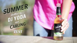 Summer Bottled: Campaign adds zest for Carling