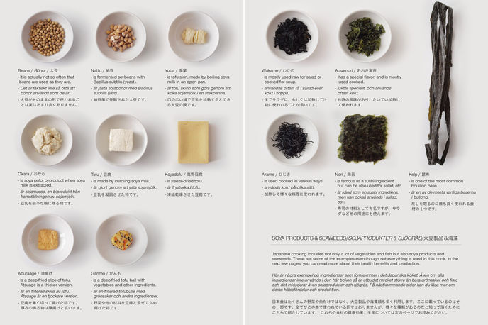 Moe Takemura, Guide to the Foreign Japanese Kitchen, Sweden