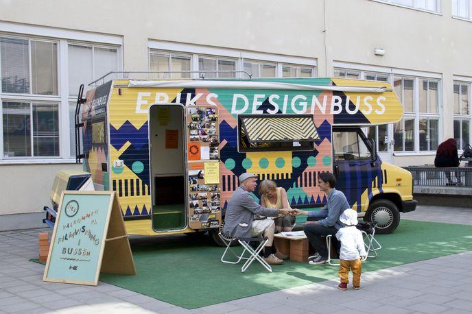 Eriks Design bus, Sweden