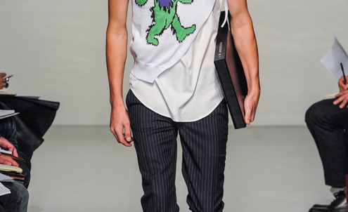 Menswear spring/summer 13 commercial trends overview