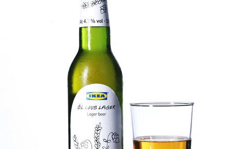 Head start for Ikea in own-brand lager market