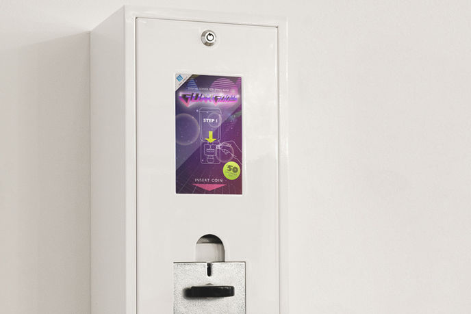 NFC Gumball Machine by Razorfish, Germany