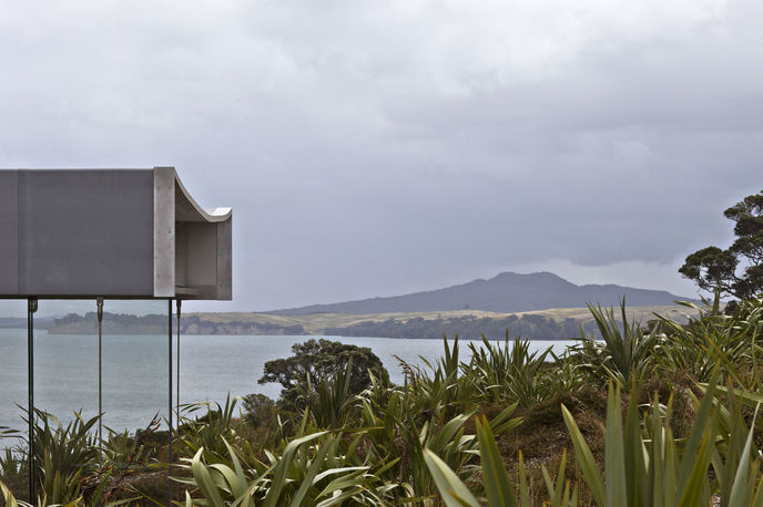 Island Retreat by Fearon Hay Architects, New Zealand