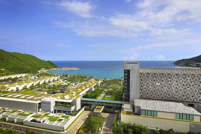 Intercontinental sanya resort by WOHA, China