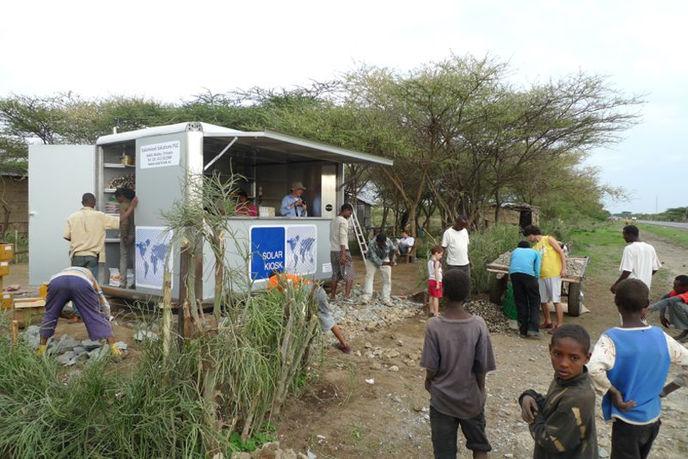 Solar Kiosk, Ethiopia