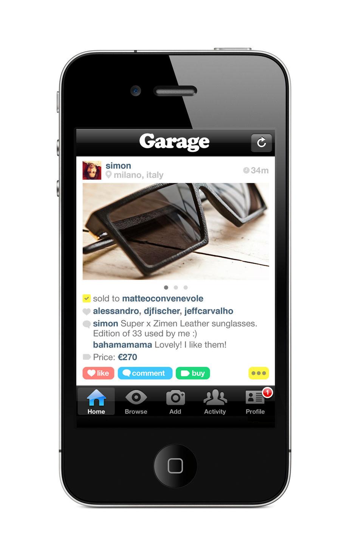 Garage sale app droid