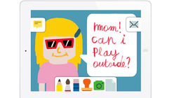 Easy as ABC: App introduces kids to email