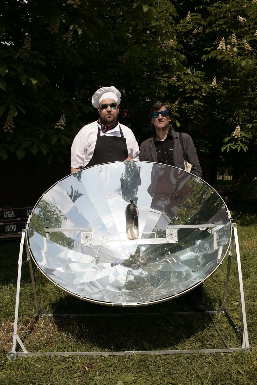 The Lapin Kulta Solar Kitchen restaurant