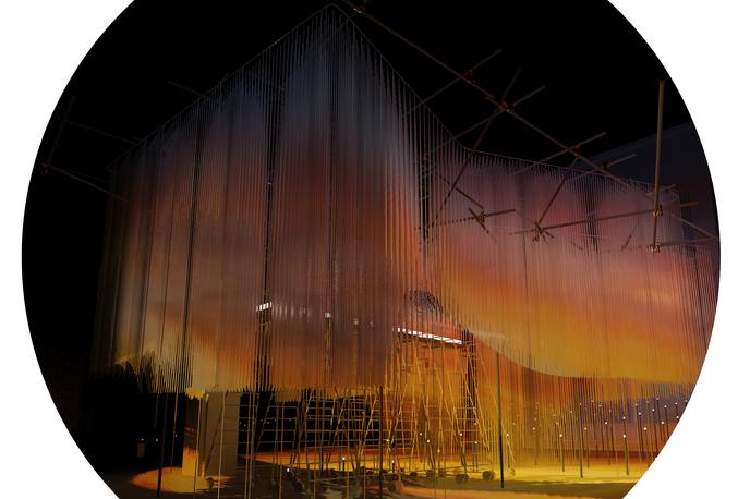 Virtual Sunset by Tobias Klein, Victoria & Albert Museum