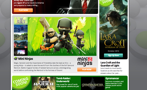Square Enix puts game catalogue online for free