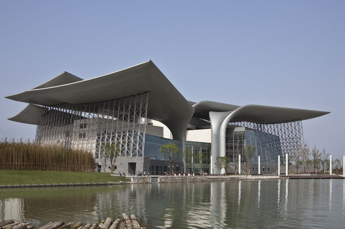 Wuxi Grand Theatre by PES Architects