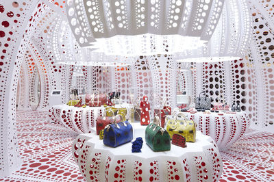 Yayoi Kusama Louis Vuitton pop-up, Selridges, London
