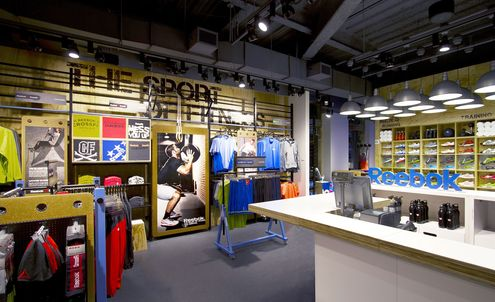 Listo Cartero cortar  LSN : Big Ideas : Retail Analysis: Reebok's Fit Hub, a CrossFit gym and  store hybrid