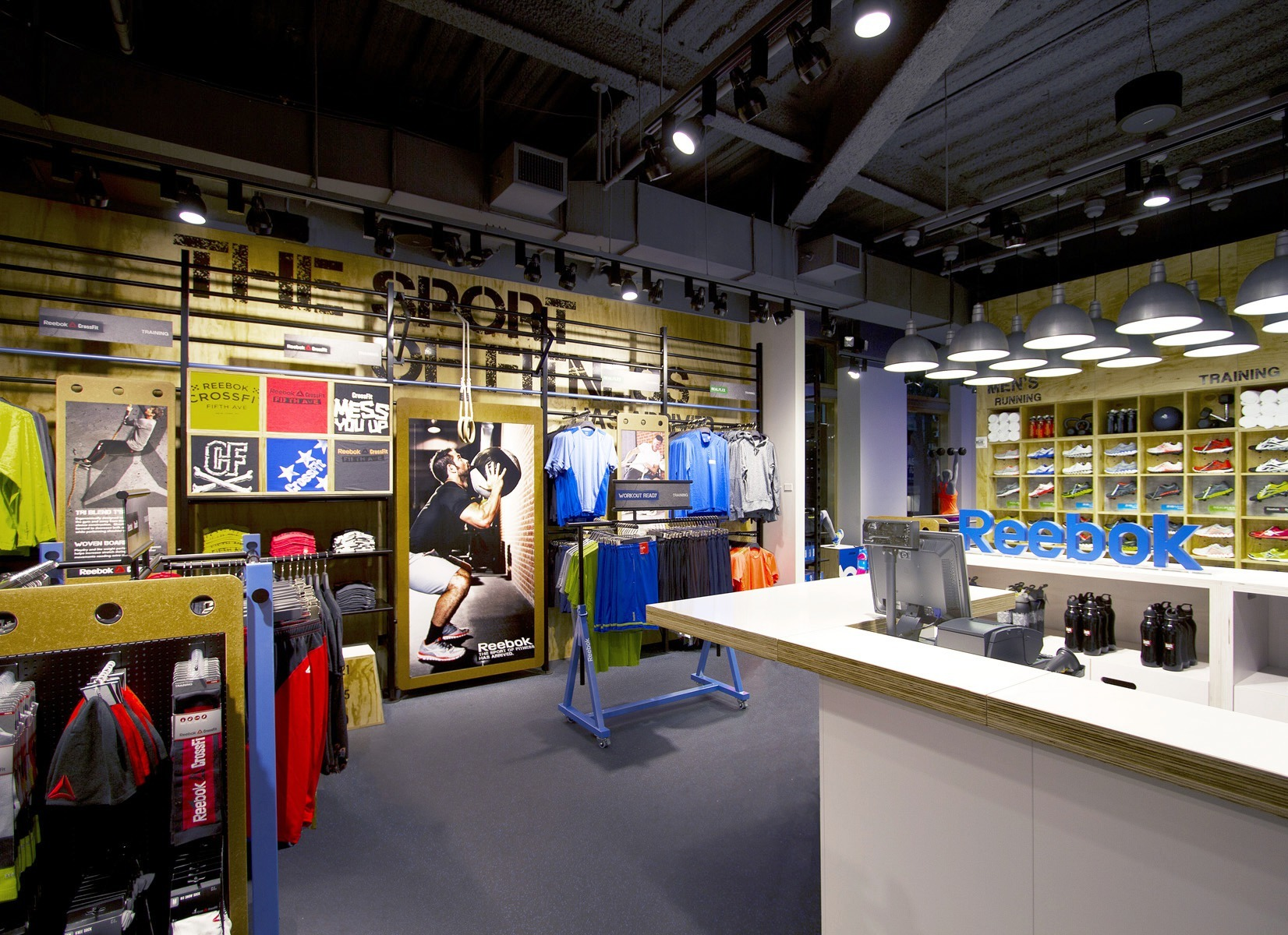 reebok fit hub store crossfit gym opens in new york city interior design shops nyc LSN : Big Ideas : Retail Analysis: Reeboku0027s Fit Hub, a CrossFit gym and  store hybrid