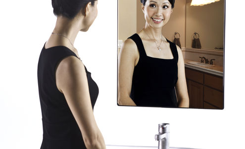 Smart mirror reflections are not just skin deep