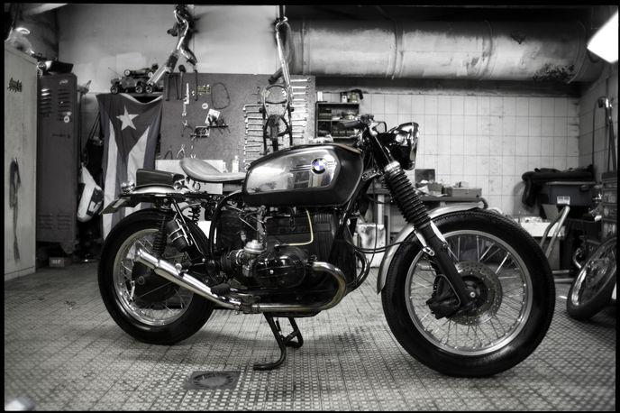 Blitz Motorcycles, Paris