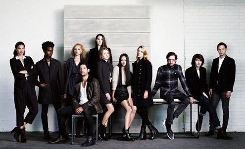 All Saints' new minimalism hits the high street