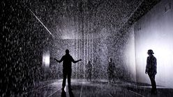 Water feature: Rain Room keeps visitors dry