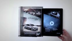 Digi-print: Lexus turns the page on conventional ads