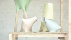 Space vase: Designer creates handmade hi-tech objects