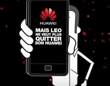 Huawei builds its smartphone brand worldwide