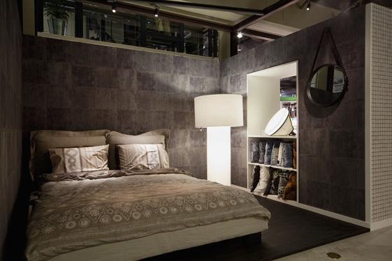 shibuya japan beijing based designer yoshimasa tsutsumi has created a pixelated interior using long cubed boxes for the diesel shibuya store - Pixelated Interior Design